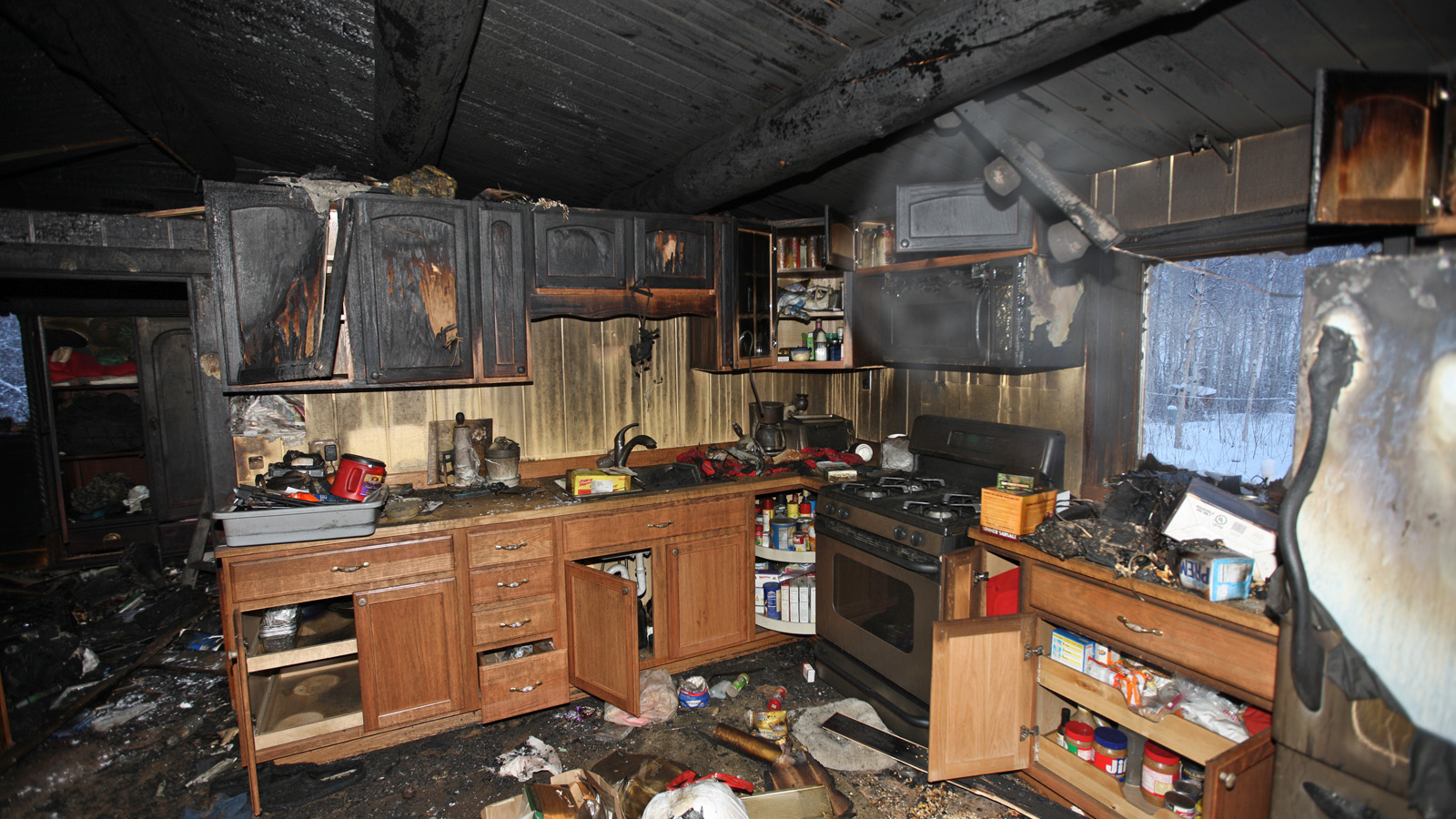 Fire Damage Insurance Adjuster